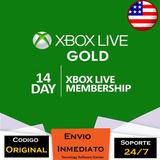 Xbox Live Gold 14 Dias Código Usa Full