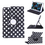 Hde 360-degree Rotating Leather Case Stand Cover For Ipad M