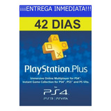 Membresia Playstation Plus 42 Dias