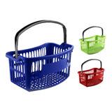 Canasta Plástica Para Mercado Supermercados Ergonomica Estra