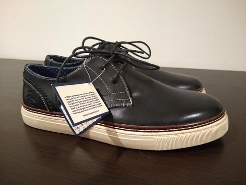 97b43147d7552 Zapatos Para Hombre En Cuero Marca Penguin