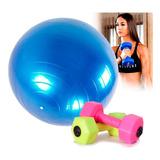 Mancuernas Balón Yoga Pilates Ejercicio Fitness