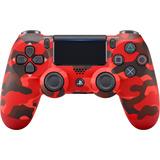 Control Ps4 Dualshock 4. Rojo Camuflado + Regalo: Grips