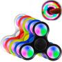Juguete Fidget Spinner Led Anti Estrés Giratorio Con Luces