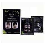 Shampoo Pinta Canas En 5 Min - Black Hair Shampoo X Unidad