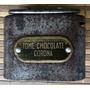 Alcancía Antigua De Chocolate Corona