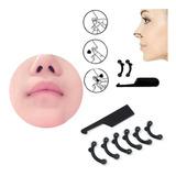 Corrector Nasal Respingador Nariz Perfecta 6 Unidades