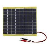 Eco-worthy 5w 12v Módulo De Panel Solar Epoxy Cargador De