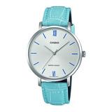 Reloj Casio Ltp-vt01l Mujer Diseño Plano 100% Original Gtía