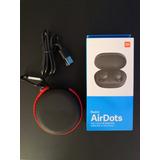 Audífonos Bluetooth Xiaomi Redmi Airdots + Cable Y Estuche