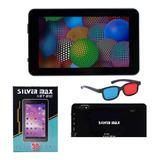 Tablet Silver Max 7 Pulgadas Gps 16 Gb Rom 1 Ram Android 9.0