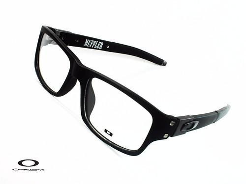 c8d40093be Montura Óptica Oakley® 53o17 Muffler® 135 Dark Opt0111 Marco