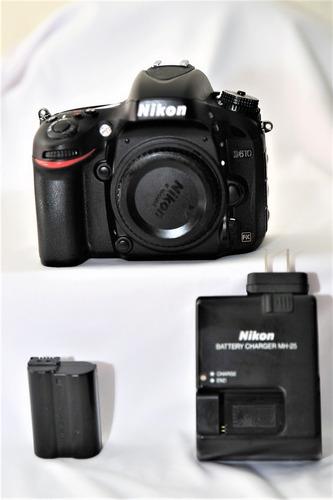 Cámara Nikon D 610, Body Full  Frame , 24.3 Mp ,full  Hd