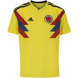 8d2effaf Camiseta Original Oficial Selección De Colombia Local 2018