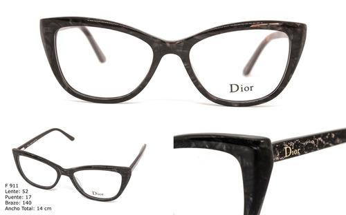 Gafas Montura Lentes Óptica Marco Para Mujer Dior + Envio ede15e06f489