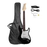 Guitarra Eléctrica Stratocaster +accesorios Madera Holandesa