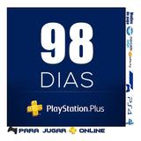Play Station Plus 98 Dias