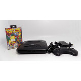 Consola  Sega Genesis Funcionando 1 Juego  Original