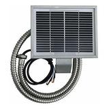 Allaboutantlerz Venado Pavo 12v Alimentador Panel Solar