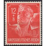 Alemania Estampilla Del Tercer Reich 1944 R A D