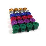 4 Botones Control Ps4 Ps3 Tipo Bala En Aluminio Colores