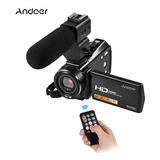 Cámara De Vídeo Digital Andoer Hdv-v7 De 1080p Full Hd De
