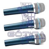 Combo 3x1 Microfono Instrumental Shu Generic 57a Alambrico