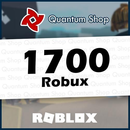 1700 Robux - Roblox Mejor Precio Todas Las Plataformas