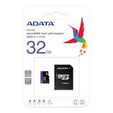 Memoria Microsd Adata 32gb Clase 10