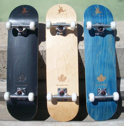 c0b98a0700 Skate Tabla Patineta Pino Canadiense + Envío Gratis