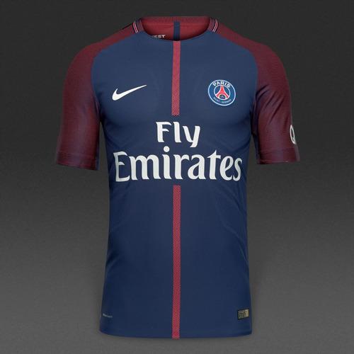 Camiseta Psg 17-18 Version Jugador París Saintgerm Neymar Jr 60a64563d4e