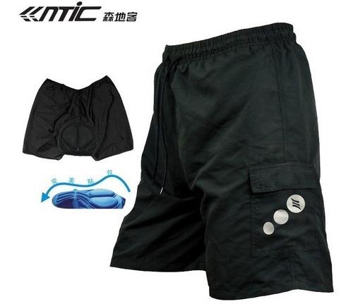 Pantaloneta Ciclismo Con Badana Mtb Santic