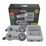 Mini Consola Retro Super Family Juegos Clásicos 2 Controles