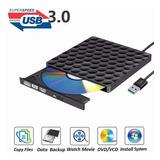 Unidad De Dvd Externa Grabadora Usb 3.0, Cd Óptico Rw Fila R