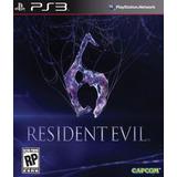 Resident Evil 6 Juego Ps3 Digital Original Oferta