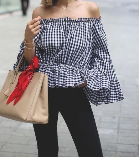Blusas para mujer Limonni LI791 Campesinas