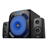 Mini Componente 2.1 Bajo - Bluetooth - Usb - Fm 64w Phoenik