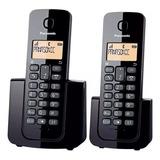 Teléfono Inalambrico Panasonic Doble  Kx-tgb112 Super Precio