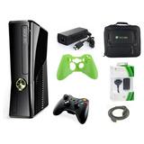Xbox 360 Slim 4gb Version 5.0 Wifi Super Combo 11x1* Stargus