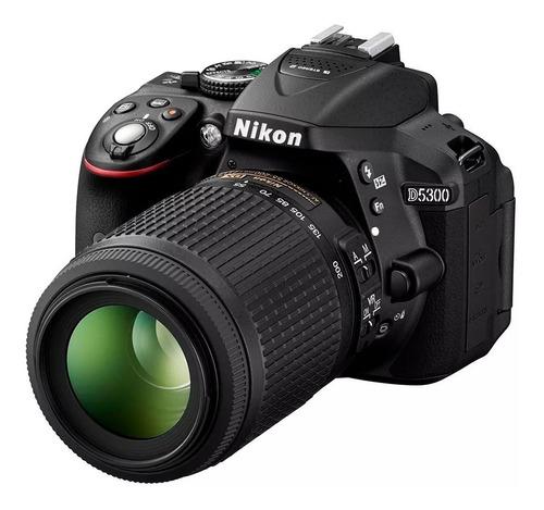 Cámara  Nikon D5300 24.2mpx Kit 18-55mm  Wifi