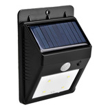 Luz Led Exteriores Recargable Energia Solar Sensor