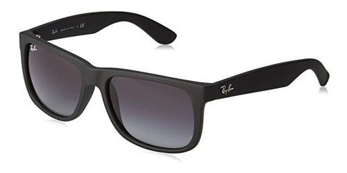 7aab36747a Gafas De Sol Rayban Justin Rb4165 Negra 3p Originales