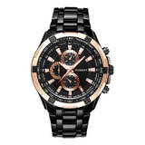 Reloj Curren 8023 Diseño Impermeable Con Cronógrafo