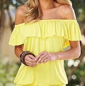 Blusas para mujer Limonni LI753 Campesinas
