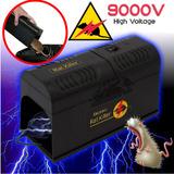 Trampa Para Ratas Ratones Electrica, Alto Voltaje ( 9000 V)
