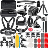 Kit 50 Accesorios Para Cámara Gopro Hero 6 5 4 3 2 O Session