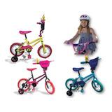 Bicicleta Niña Gw Rin 12 Dancer Con Accesorios Promocion