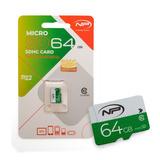 Memoria Micro Sd De 64 Gb New Print Clase 10 Sello Original