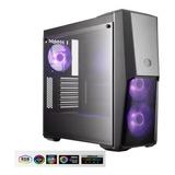 Chasis Gamer Coolermaster Mb500 + Fuente 500w Reales