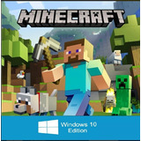 Minecraft: Windows 10 Edition Original [pc]
